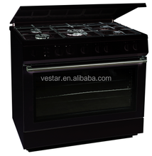 5 burners free standing gas cooker with oven