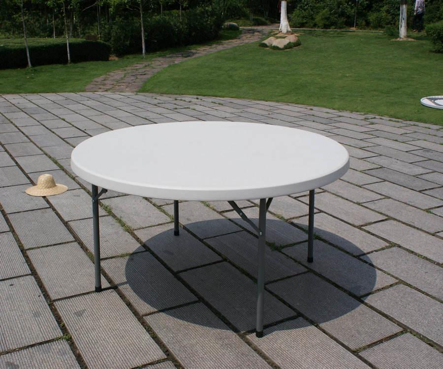 152cm portátil de plástico al aire libre de interior picnic parte del campamento de comedor mesas