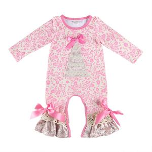 High quality baby clothes romper cheap wholesale children's boutique clothing baby girl clothes romper baby