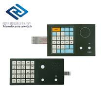 Digital print Polyester membrane switch keyboard for distance measurer