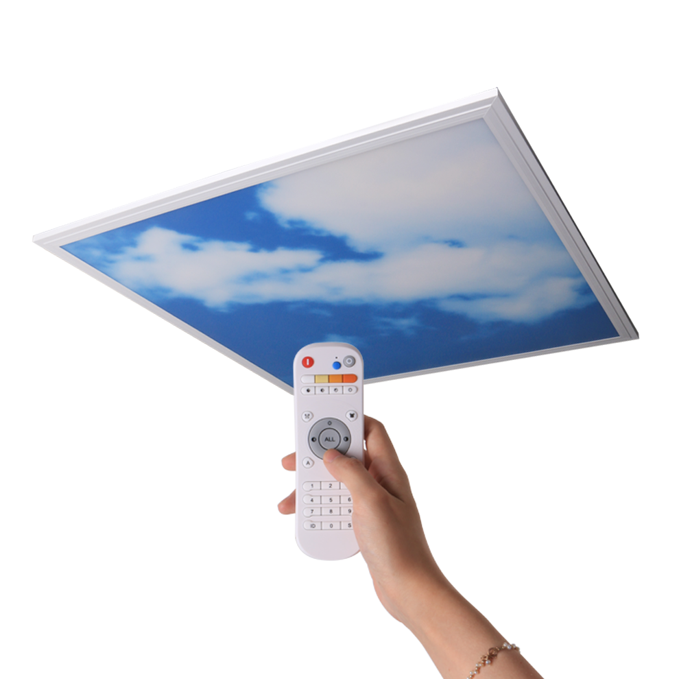 led ceiling panel artificial skylight,sky and cloud led ceiling panel