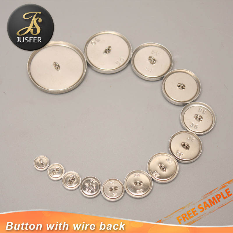Cover Button Size 45 WIRE or FLAT BACK Wholesales-50 buttons FREE SHIPPING To US