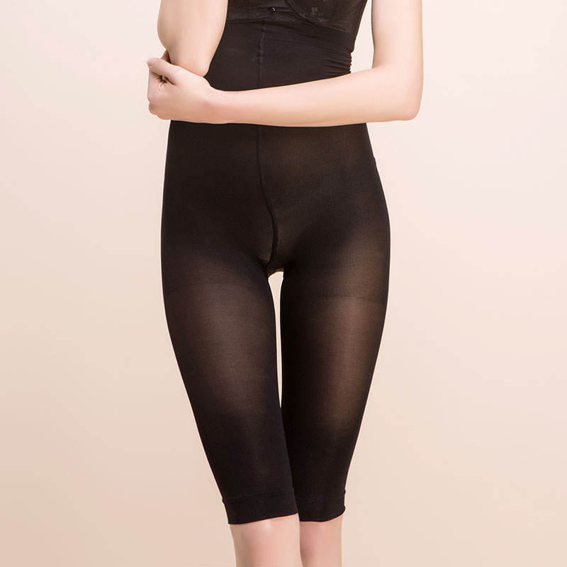 Ladies body shaping high waist five pants