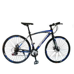 New Aluminum Alloy 21 Speed 26 inch Wheels 700C Hybrid Bicycle Fixed Gear commuterBike Road Racing Bicycle