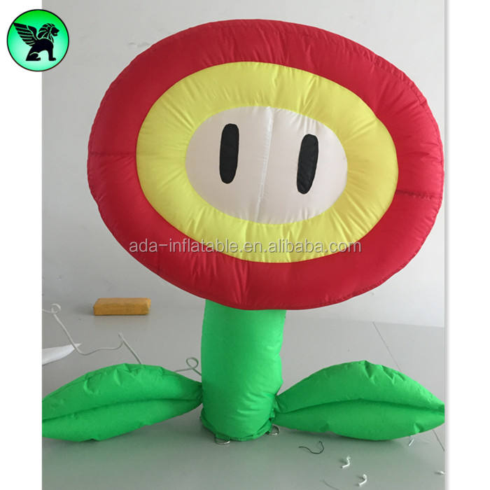 Computer Game Inflatable Cartoon Customized Event Mario Inflatable For Advertising A3695
