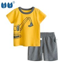 Popular soft funny hot 2019 baby boy clothes kids clothing wholesale children sets