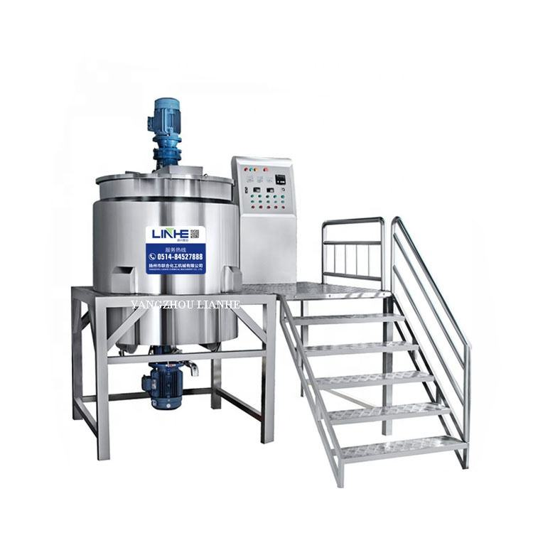 For Medicine Agitator Mixer Lianhe Machinery Industrial Mixer Mixing Equipment Mixing Tank With Agitator