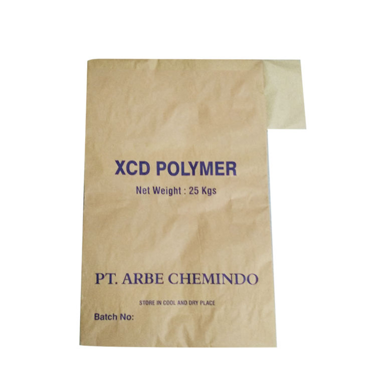 20kg 25kg 50kg Multiwall Kraft paper valve bag for cement mortar packaging paper bag with pe liner