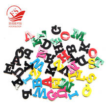 Educational Die cut decorative hook loop and PVC alphabet letters with custom design