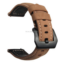 Italian Style Genuine Leather Watch Band Strap For Samsung Gear S3 Classic/Frontier Leather Watch Band 22mm Wristband Strap