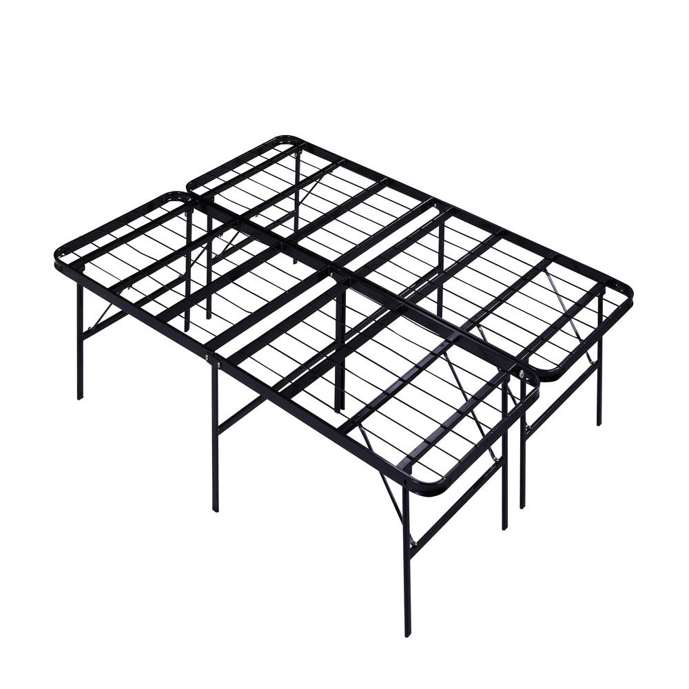 new design popular iron folding cot steel frame DJ-PQ12 beds for small spaces