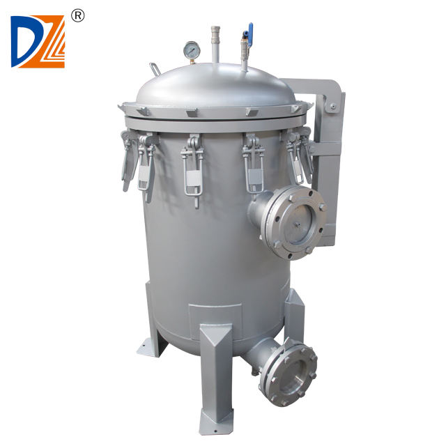 DZ drinking water treatment plant large flow precision filter press machine