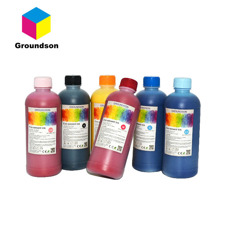 New Technology Eco Solvent Ink for XAAR 1201 printhead printer 1000ml