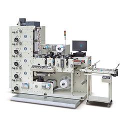 RY320 Automatic Small Label Stock roll to roll high quality Flexographic Printer Type Flexo Printing Machine