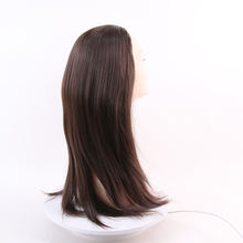Wholesale cheap kinky straight elastic brazilian hair wigs without bangs