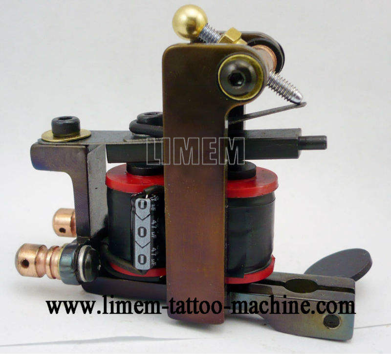 hot professionele ijzer tattoo machine, tattoo pistool, tattoo machine frame xg-225