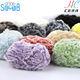 china fancy yarn manufacturer good sale 100% polyester fancy soft fur wool for hand knitting scarf yarn