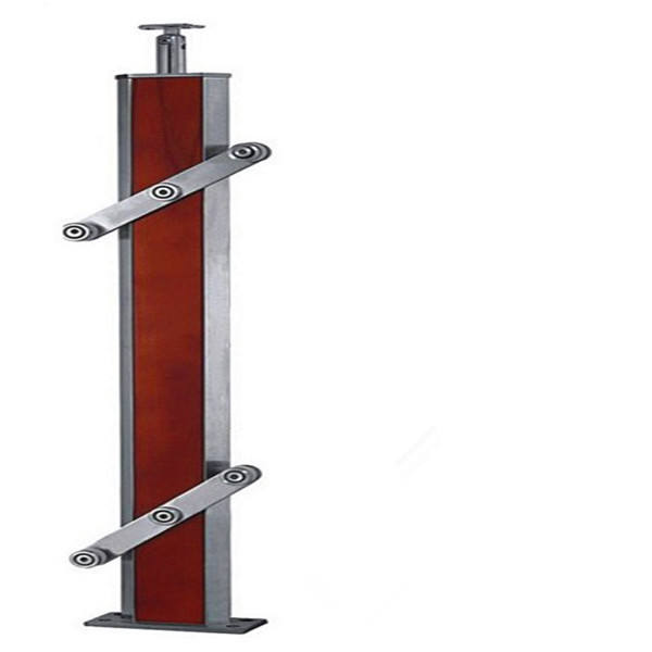 Outdoor <span class=keywords><strong>Wpc</strong></span> Houten Balustrade En Glas Reling <span class=keywords><strong>Leuning</strong></span> In 850 Om 1200Mm Hoogte