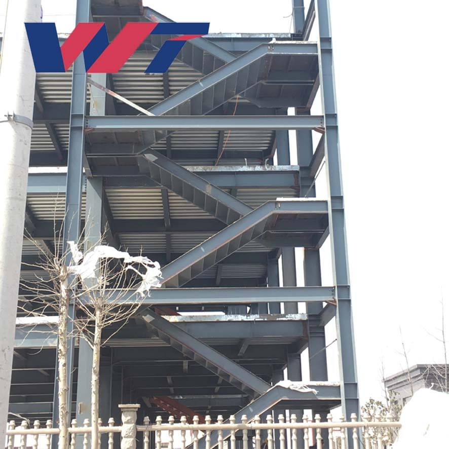 Prefabricated steel structure building, metal fabrication hotel building