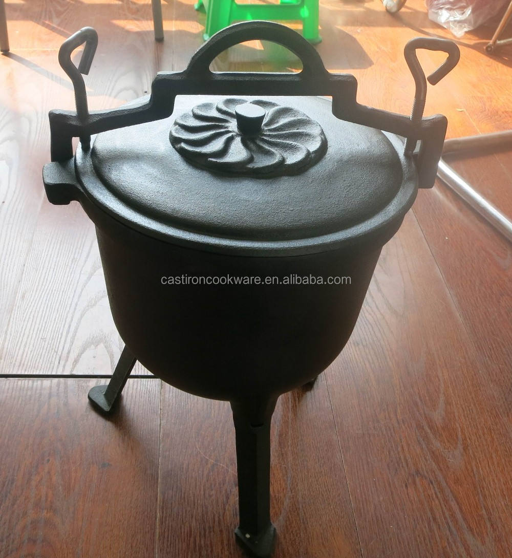 vegetable oil coating family camping dutch oven for Poland