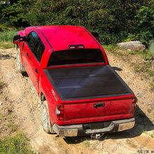 "2014 tundra 6.5"" hard tri fold pickup tonneau cover for toyota pickup"