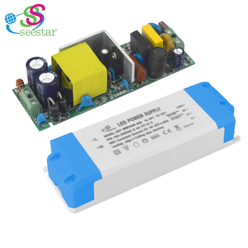 High Efficiency Constant Current 35V 36V 600mA 900mA 30W 35W 36W Panel Light LED Driver with Plastic Housing India Bis Approved