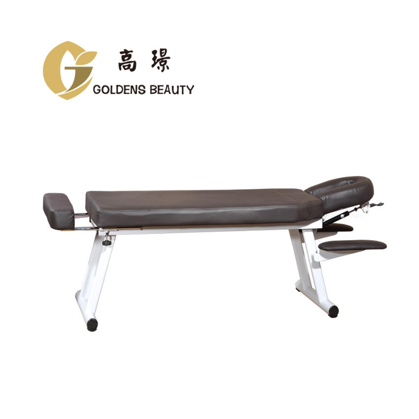 used portable facial chair/bed/ massage chair/table folding
