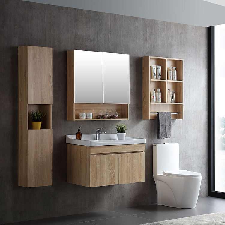Hot sale cheap plywood bathroom vanity/bathroom cabinet WTS001-80