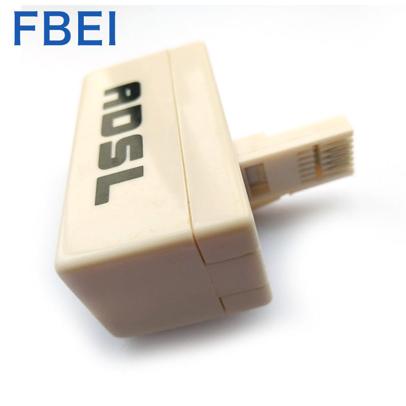 Reliable quality UK 6P4C ADSL splitter