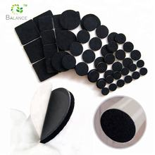 Furniture accessories adhesive sofa table feet protector felt desk pad
