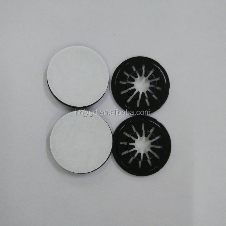 CD hubs button, cd hubs spider (PS Material) black