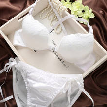 3/4 cup push-up lace women underwear sexy bra and panty new design