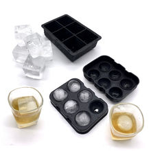 BHD Wholesale Clear Jumbo Sphere Rubber Ice Ball Mold Custom Silicone Ice Cube Tray