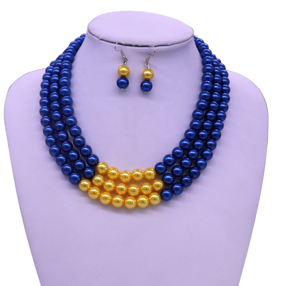 New Design Greek Organization SGRHO Sign Sorority Group Pearl多層Necklaces Sigma Gamma Rho Jewelry