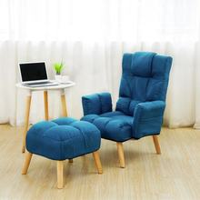 VISI modern foldable Upholstered storage chair blue folding dining housse de chaise Living Room Furniture lounge