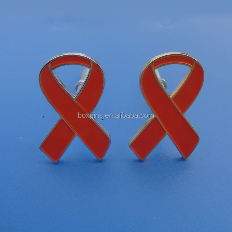 <span class=keywords><strong>Aids</strong></span> Awareness Red Ribbon Personalizado Auto Emblema Do Carro Emblemas