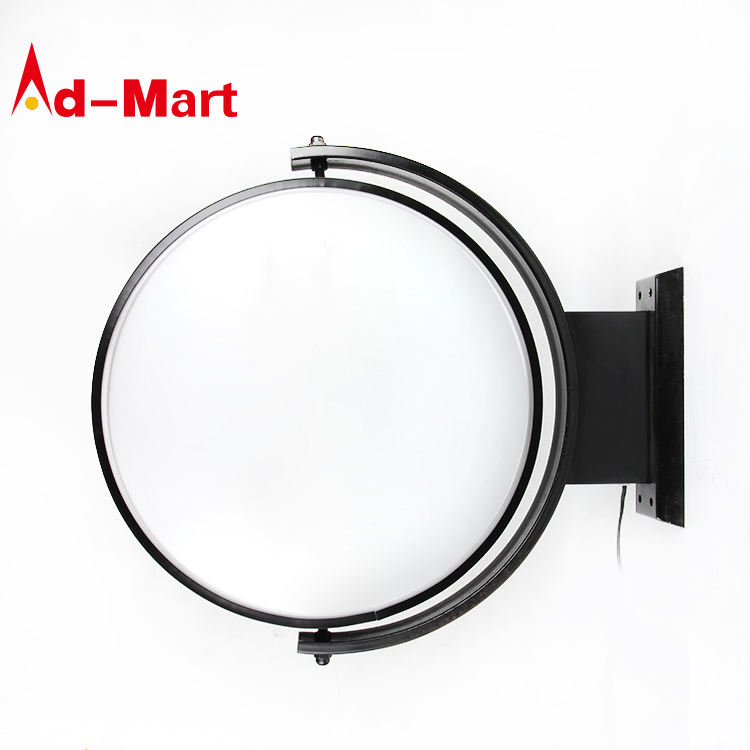 Circle circular led advertising round signage light box led sign light box outdoor acrylic Vacuum Forming Light Box