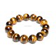 12mm Natural yellow Tiger Eye Chakra Healing Bracelet wholesale
