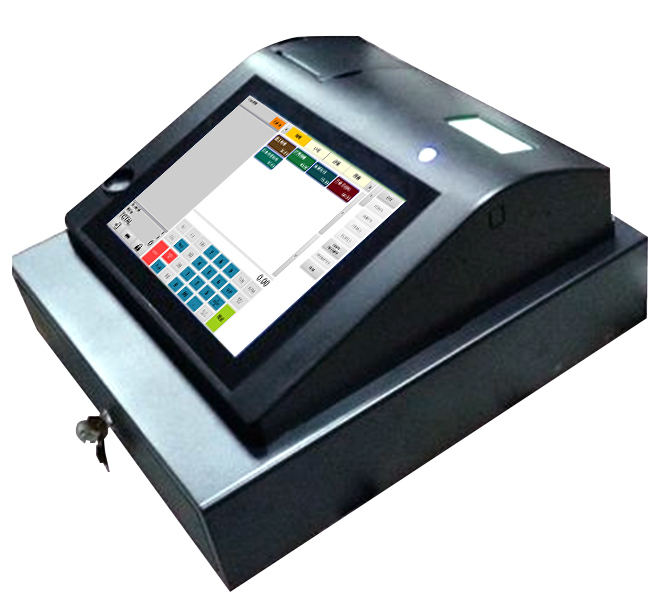 9.7 inch Touch screen Android cash register with printer software