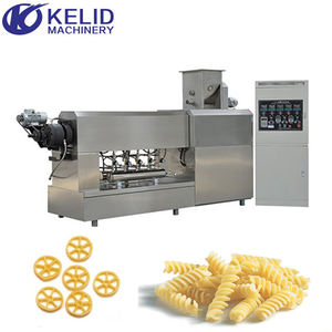 Automatic Electric Industrial Macaroni Pasta Extruder Production Line Making Machine