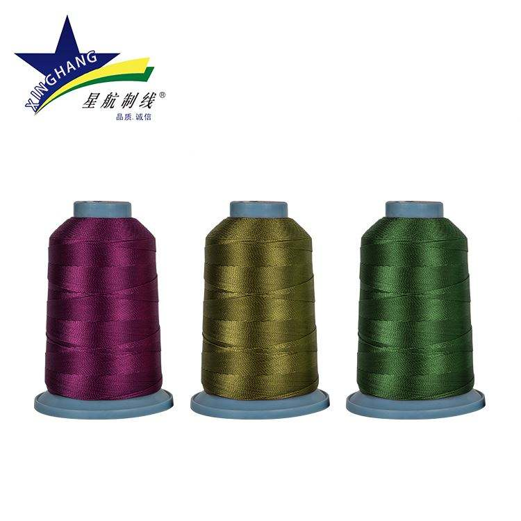High quality threads for sewing machines nylon thread bonded