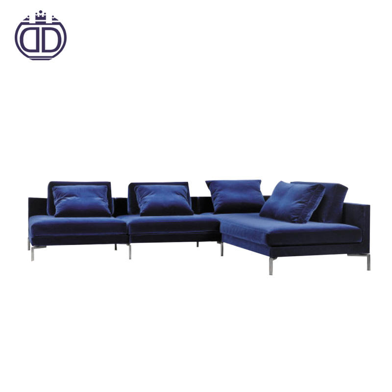 Luxury home living room furniture european style living room sofa sets commercial fabric chesterfield sofa