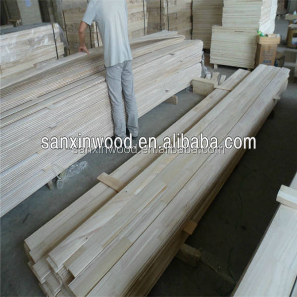 Competitive price paulownia finger joint lamination edge glued panels board