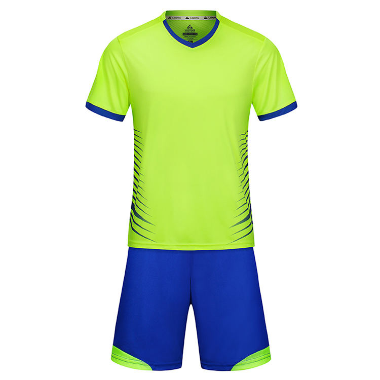 Factory direct sale custom design dry fit football kits soccer training clothes
