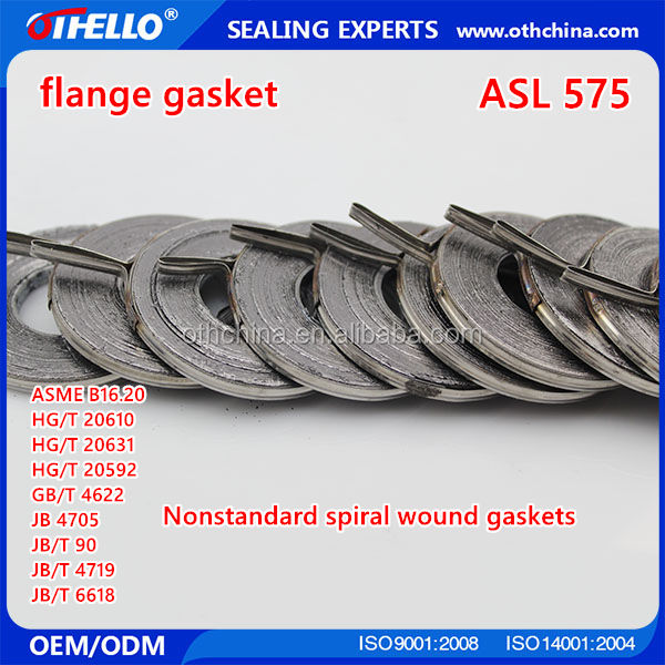 Stainless Steel Pipe Flange Ring Gaskets