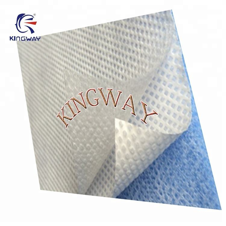 70gsm PP + PE 코팅 앞치마 used in 병원 등 대 한 의료 및 외과 use/SF nonwoven Export to South korea