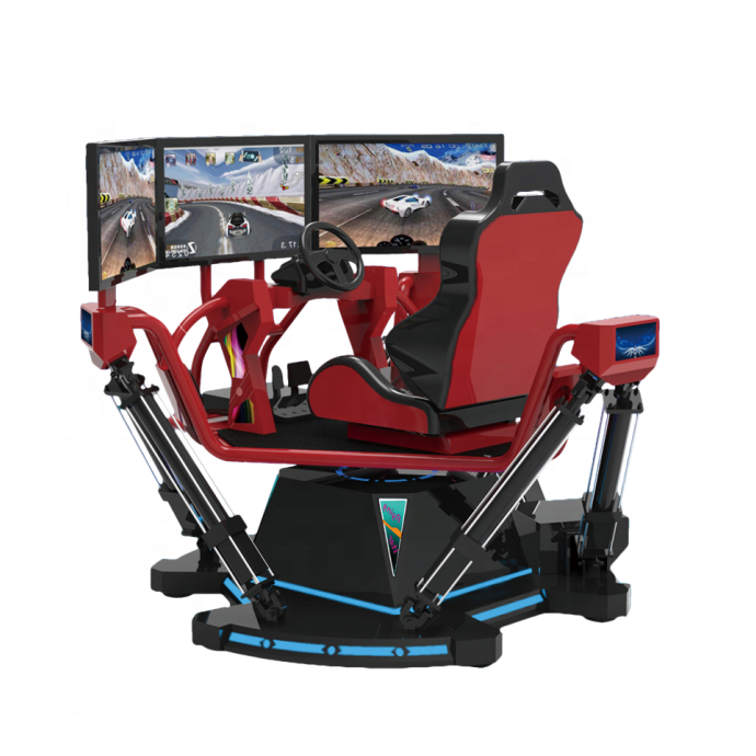 Virtual Reality 9d vr driving simulator car driving Game Machine 4d Car Racing Simulator