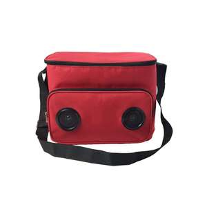 Custom blue tooth speaker soft picnic cooler bag