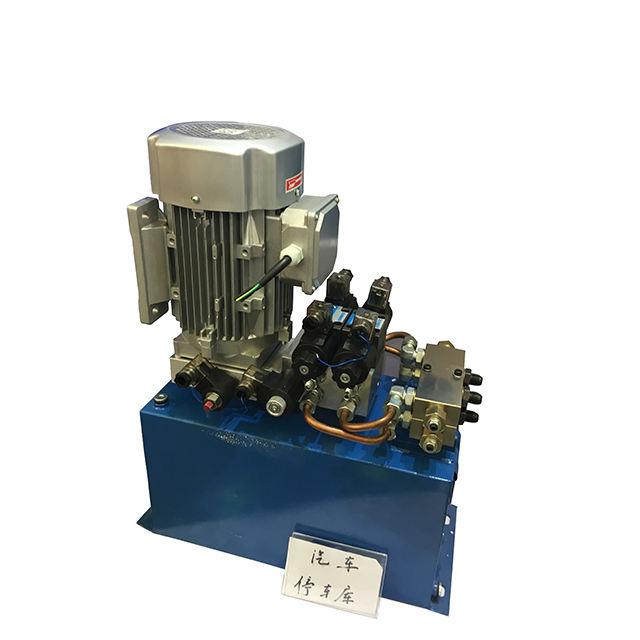 Used Mini Hydraulic Power Unit Auto Double-Scissors For Scissor Lift