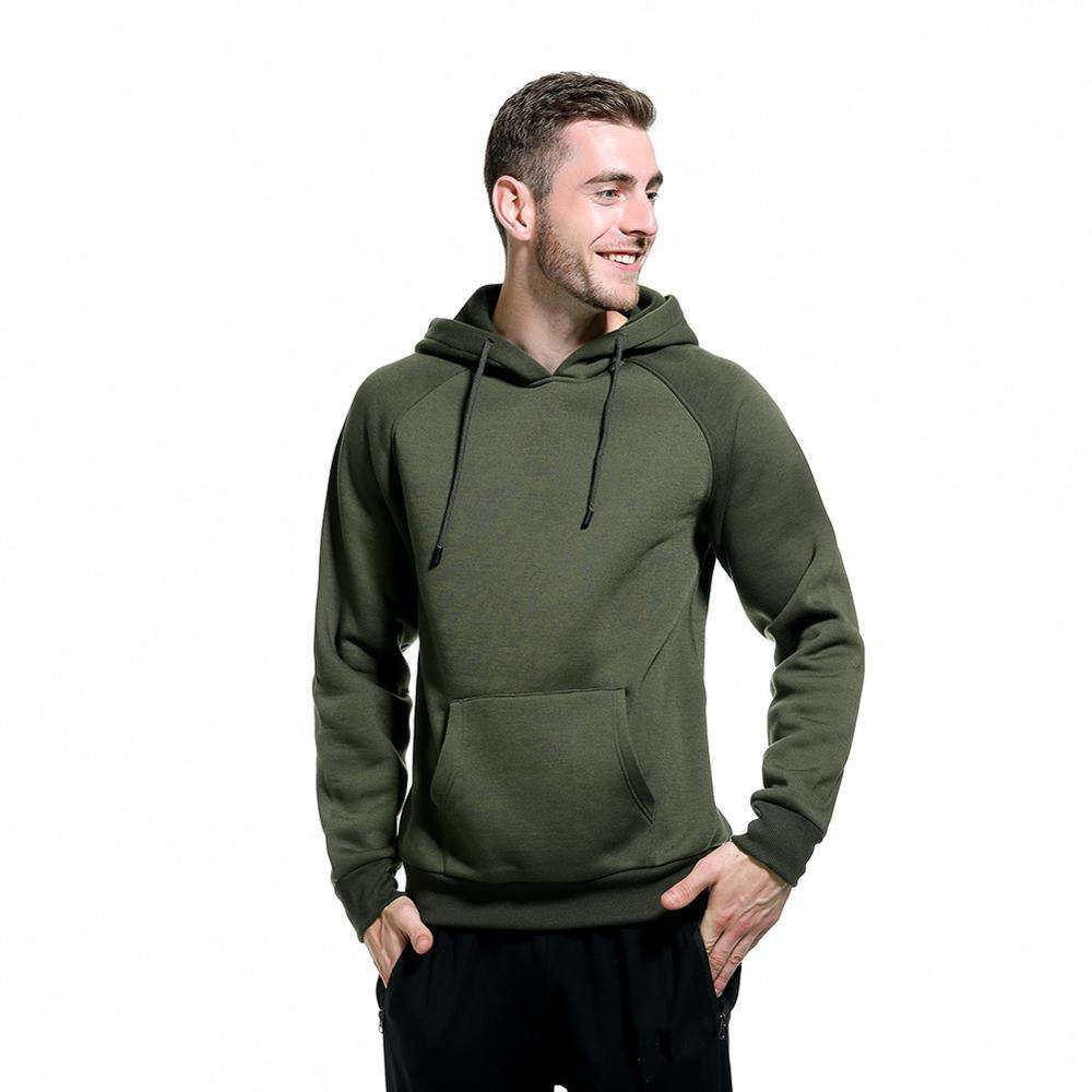 Customized Logo Men Plain Sweatshirt High Quality Sportswear Hoodie